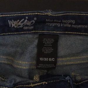 Mossimo skinny jeans - medium/ dark wash
